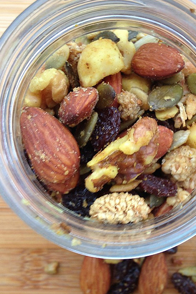 Honey Roasted Curried Trail Mix
