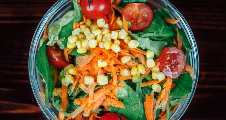 Simplest Side Salad with Balsamic Vinaigrette
