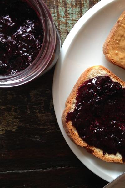 Blueberry Chia Seed Jam